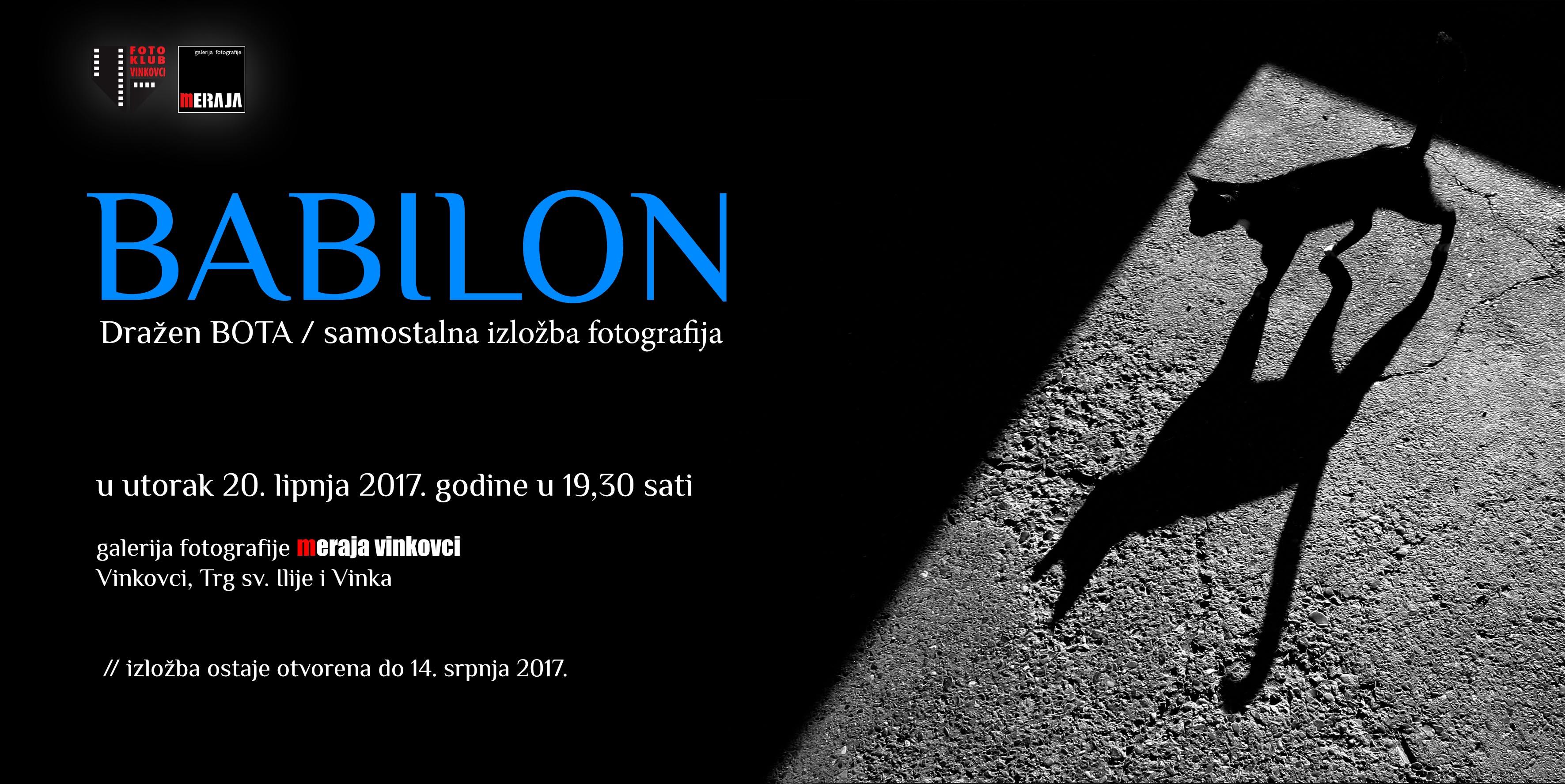 BABILON pozivnica