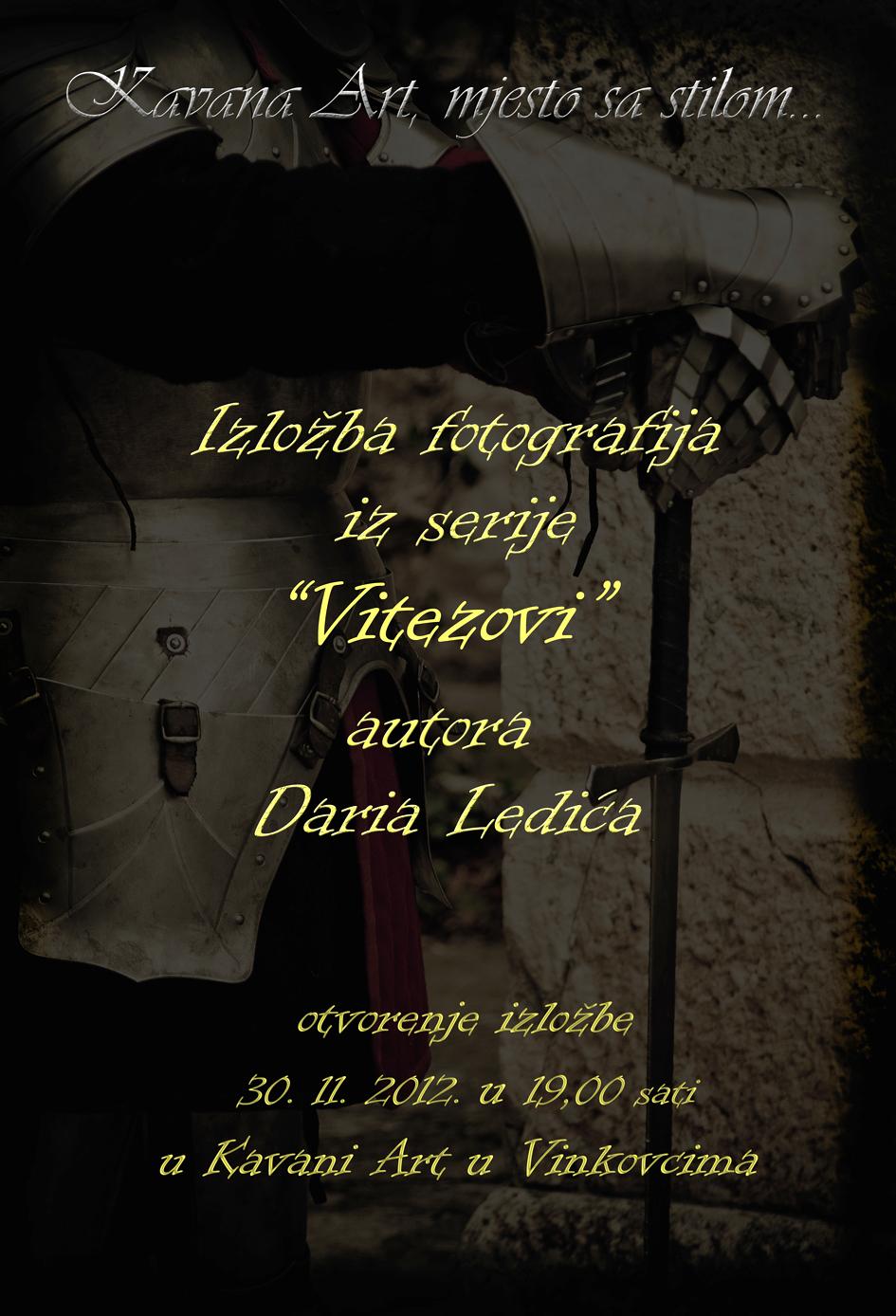 Plakat Vitezovi Dario Ledic